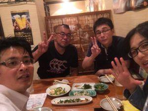 鍼道五経会の打ち上げ