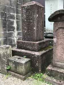 加賀藩医であった曲直瀬家のお墓