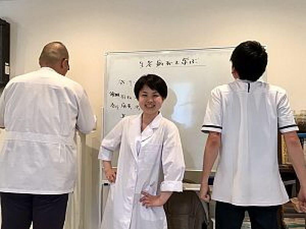 with B風に決めてみた。鍼道五経会の生老病死を学ぶの講座にて