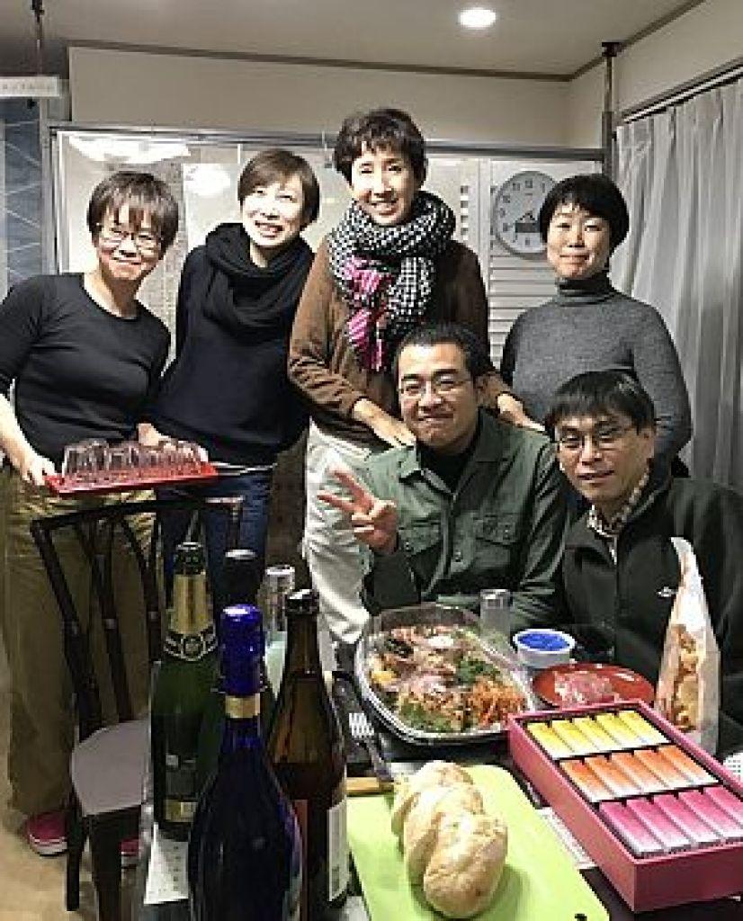 鍼道五経会 東京講座の忘年会