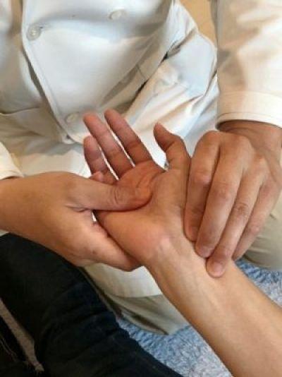 脈診の写真
