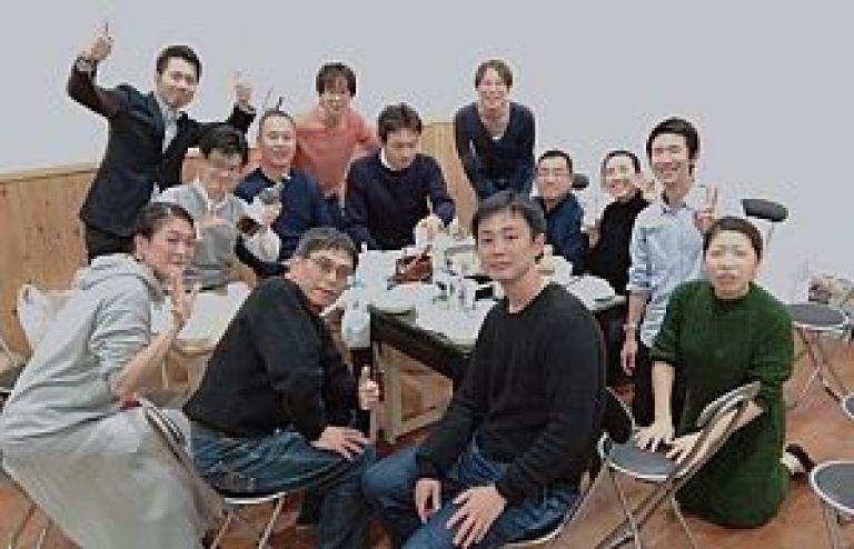 鍼道五経会 Studio Libraでの忘年会2019