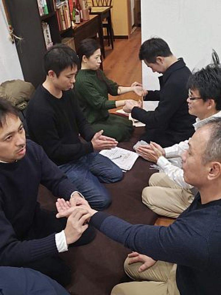 鍼道五経会 東京講座の脈診勉強会