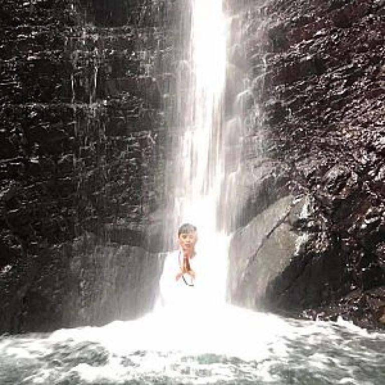 滝行の写真