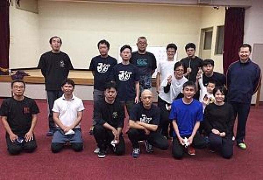 通背拳体験セミナーの集合写真