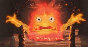 スタジオジブリの作品静止画『ハウルの動く城』より
