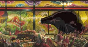スタジオジブリの作品静止画『千と千尋の神隠し』より