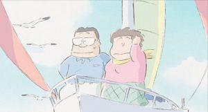 スタジオジブリの作品静止画『ホーホケキョ となりの山田くん』より