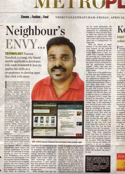 Neighbour's Envy