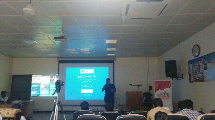 WordPress 101 – BarCamp Kerala 2016 – Micro Edition – Slides