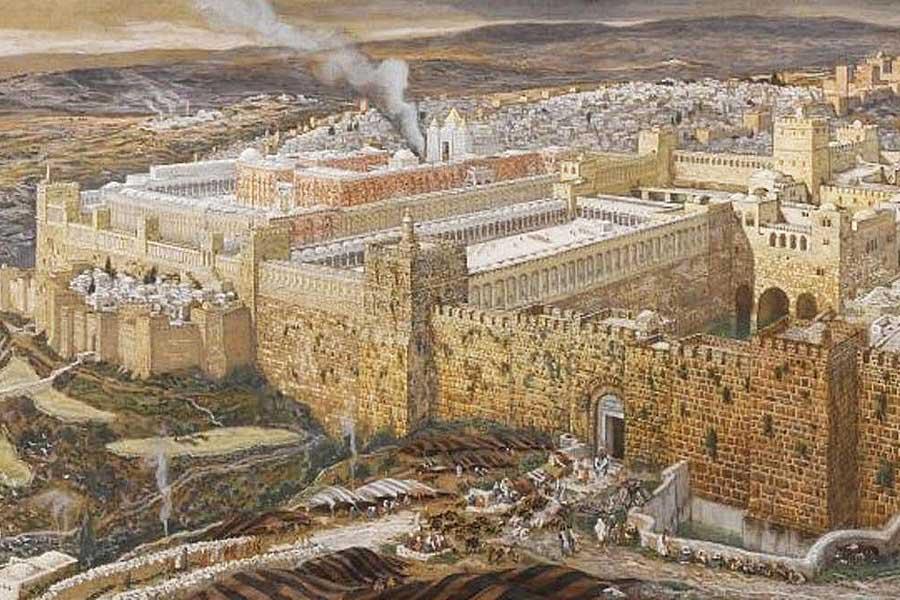 Ritual Bait Suci oleh Nabi Nehemia 2600 Tahun Lalu, Dijalankan Kembali oleh Sanhedrin