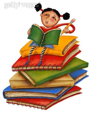Gambar Orang Baca Buku : gambar, orang, Gambar, Kartun, Orang, Kumpulan