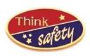 213 1161 2 - Think Safety Award Pin 1