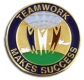 213 8401 1 - Teamwork Makes Success Pin
