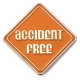 213 8741 1 - Accident Free Pin