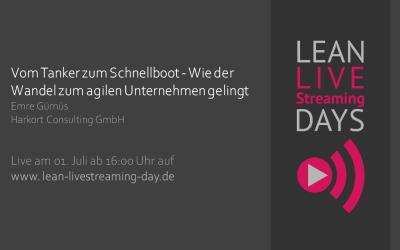 Live Streaming Days: Der Wandel zum agilen Unternehmen