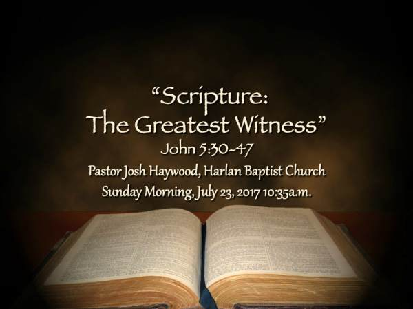 Preparing for Worship Sunday Morning July 23 2017