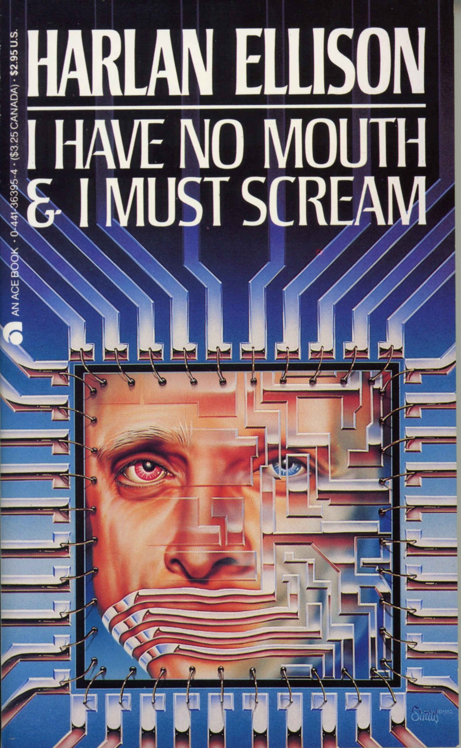 I Have No Mouth And I Must Scream : mouth, scream, Mouth, Scream, (1983, Market), HarlanEllisonBooks.com
