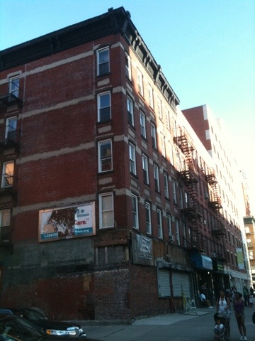 Three adjacent lots on harlem 39 s frederick douglass blvd for Harlem condo for sale