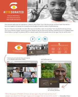 Eye Donated