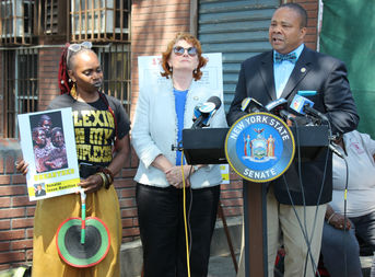 On Thursday, officials called on the state to prompt a thorough investigation at the 9th Street lot for the remains of slaves and Revolutionary War soldiers.