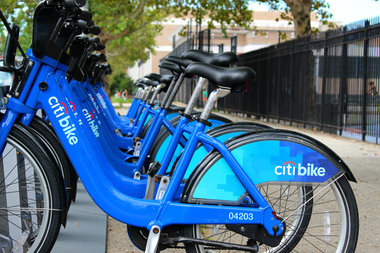 The stations will be installed starting Sept. 12, bringing 2,000 bikes to 140 new Citi Bike docks.