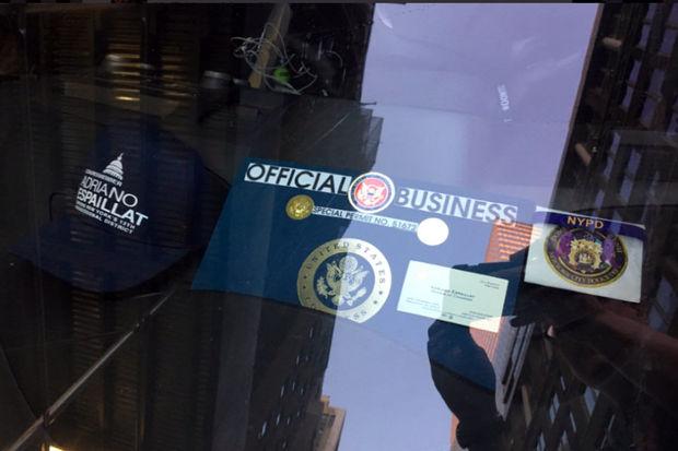 The permit says