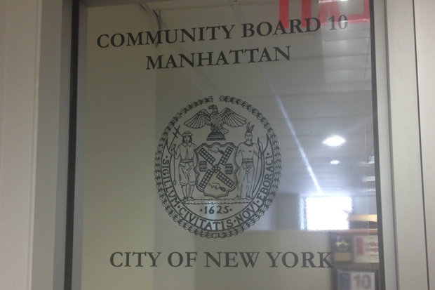The Community Board said it was a mistake to include a campaign fundraising event in their list of weekend events.