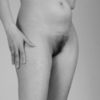 Standing Nude with Pubic Hair