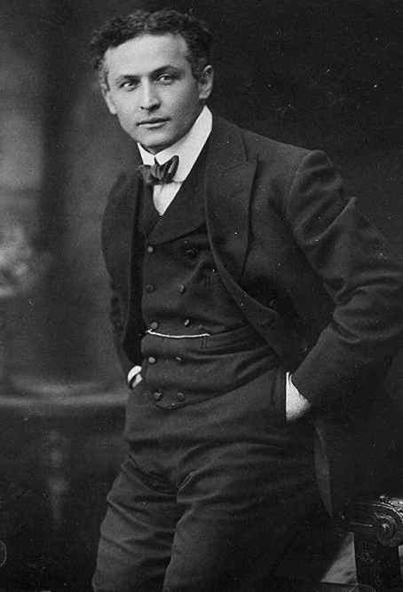 Harry Houdini In Harlem