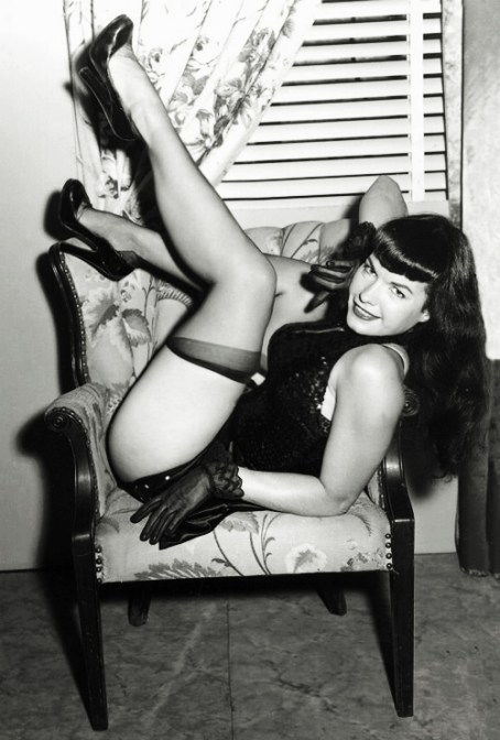 Bettie_Page_Irving_Klaw_1950s