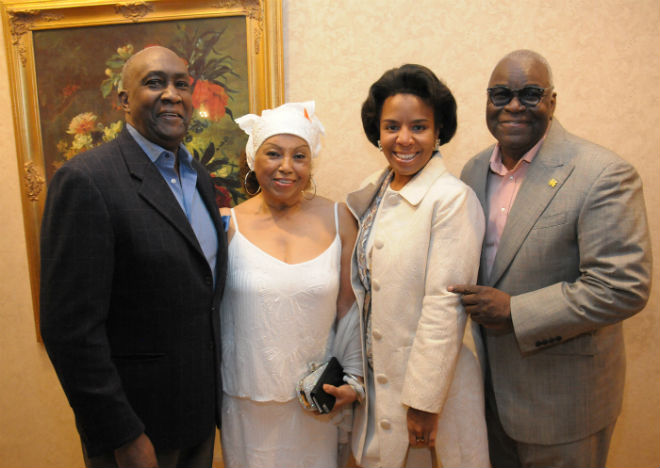 CCCADI Gala Guests  Lloyd Williams Greater Harlem Chamber of Commerce    CCCADI Pres and Founder Dr