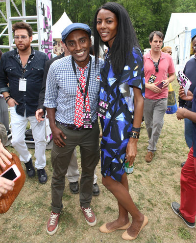 MARCUS SAMUELSSON  AND GATE MAYA HAILE _1555