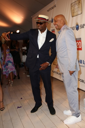 Dave Chappelle and Russell Simmons