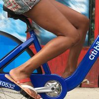 Mayor Bill de Blasio Announces Fifth Anniversary Of Citibike In NYC
