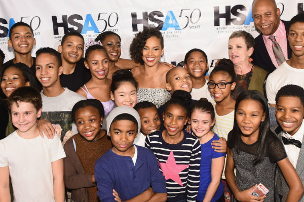 Alicia Keys and children of HSA_Photo Credit Michael Loccisano for Getty Images