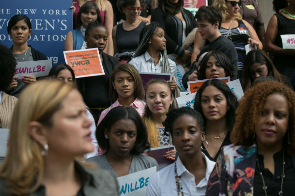 Speaker Melissa Mark Viverito  Launches Young Women's Initiative on the S