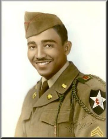 rangel in the military