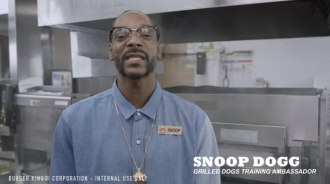 snoop dogg at burger king