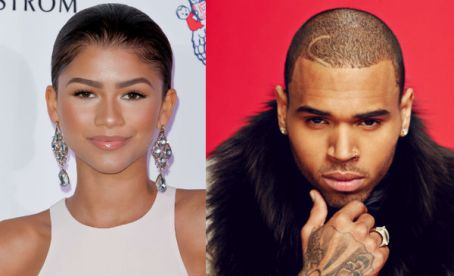 zendaya and chris brown
