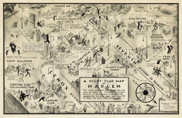 Lot-415-E-Simms-Campbell-Night-Club-Map-Harlem