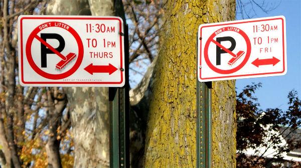alternate street parking in harlem