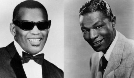 Ray Charles and nat king cole1