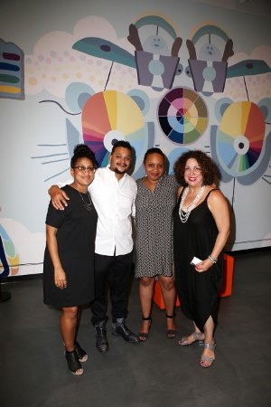 Shani Peters, David Shrobe, Lauren Kelley and Sandra Garcia-Betancourt