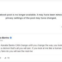 Harlem's Azealia Banks Asks For Acceptance On Facebook