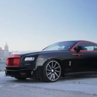 2017 Rolls Royce Wraith Black Bison And Marcedes S63 (Video)