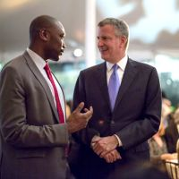 Mayor de Blasio And Commissioner Bishop Commitments For NYC Tech Talent Pipeline Initiative