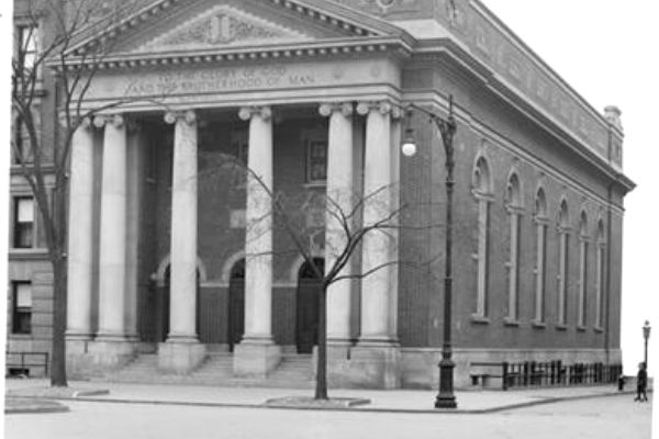 Ansche Chesed Synagogue, Harlem, NY, 1910 (Photograph)
