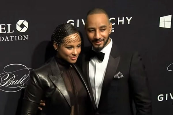 Harlem's Alicia Keys, Swizz Beatz And Others For Gordon Parks Gala 2017 At Cipriani's