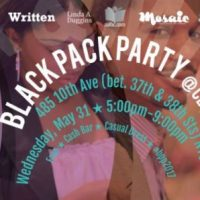 The 2017 Black Pack Party, May 31, 2017